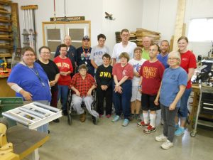 Woodworking group reduced